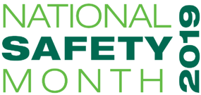 National Safety Month 2019 Logo